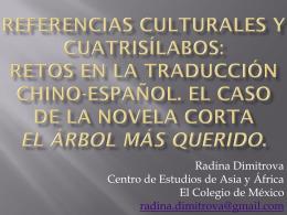 Referencias culturales y cuatrisílabos: retos en la - red alc