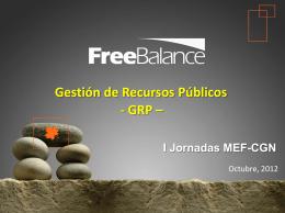 La visión de las empresas proveedoras. Free Balance Inc. Sr. Henry