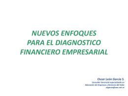 Nuevos enfoques diagnóstico