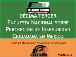 Diapositiva 1 - México Unido Contra la Delincuencia