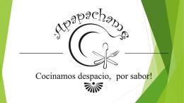 PRESENTACIÓN DEL PROYECTO APAPACHAME