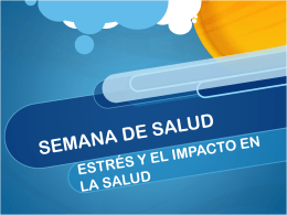 Estres y Salud - adventistas.do