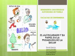 comportamientos en salud - educacionparaelcuidadoBUAP