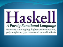 Semántica denotacional de haskell