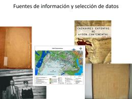 Fuentes de informaci.. - Turismo Cientifico Aysen
