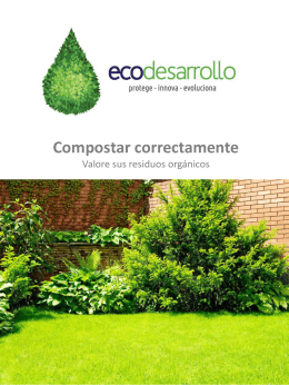 Descarga brochure Compostaje.