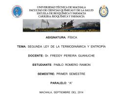 PROYECTO, DIAPOSITIVAS - Universidad Técnica de Machala