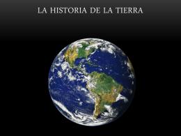 La historia de la Tierra en números.