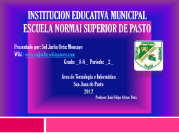 institucion educativa municipal escuela normai superior