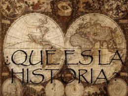 La Historia como ciencia