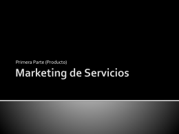 4.2. Marketing de Servicios