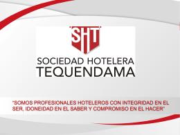 Marco_Estrategico_SHT - Sociedad Hotelera Tequendama