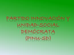 PINU-sd presentacion - Historia