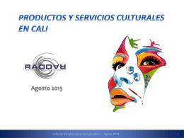 Presentación de PowerPoint - Industrias Culturales Cali