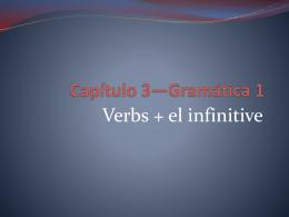 Capítulo 3*Gramática 1