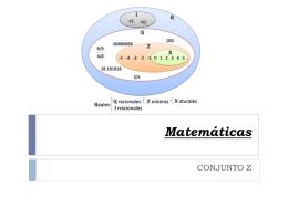 Matemáticas Operatoria en Z N°1