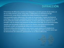 Presentación Unidad 5 Las Ondas (III)