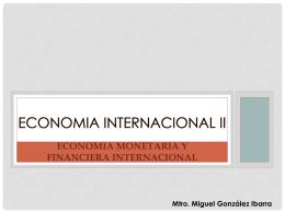 Economía Internacional I