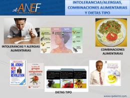 Intolerancias/Alergias Alimentarias, Combinaciones de Alimentos y