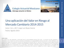 M - Colegio Actuarial Mexicano