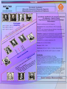 Poster - Universidad Autónoma del Estado de Morelos