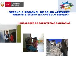 GERENCIA REGIONAL DE SALUD AREQUIPA