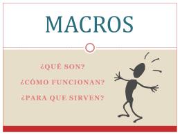 MACROS - computacion3a