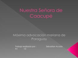 Nuestra Señora de Caacupé - 1d-copaamerica