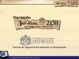 Jav-Atar2011 - Pontificia Universidad Javeriana, Cali