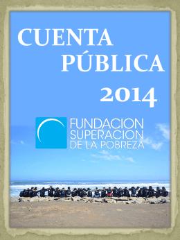 Cuenta pública institucional 2014