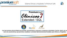 Presentacion del Sistema de Clinica 7X