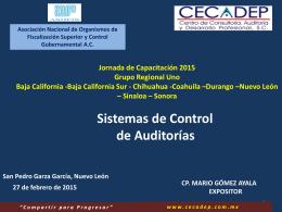 Diapositiva 1 - Auditoría Superior del Estado