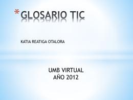 GLOSARIO TIC
