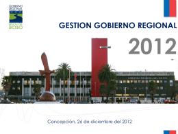 Presentación de PowerPoint - Gobierno Regional de la Region del
