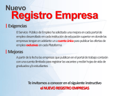 Registro Empresa