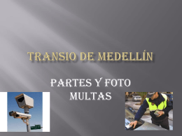 Transito de Medellín