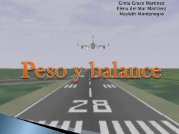 Peso y balance - OPERACIONESAEROPORTUARIAS2