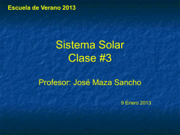Clase # 3 (2013)