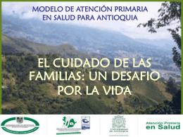 Dirección seccional de Salud de Antioquia Facultad de Enfermería