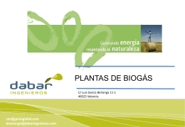 proyectos de biogás - Genia Global Energy