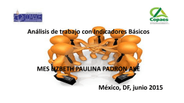 Programa educativo - COMACE - Consejo Mexicano para la
