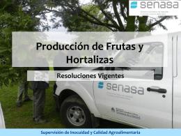 Supervisión de Inocuidad y Calidad Agroalimentaria
