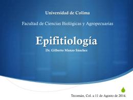 Epifitiología - CIAM - Universidad de Colima