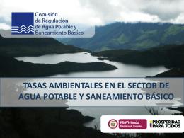 Tasas Ambientales - APC