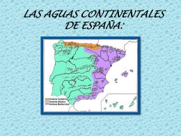 LAS AGUAS CONTINENTALES DE ESPAÑA: