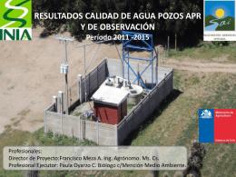 3_Resultados Agua Subterránea 2015