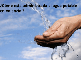 El agua potable en Valencia y Hénin-Beaumont. - Over-blog