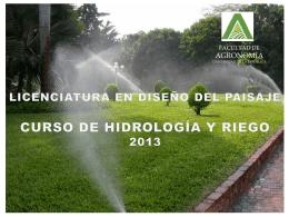 Ciclo Hidrológico201.. - Facultad de Agronomía