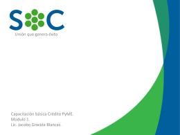 Capacitacion PyME Modulo 1 1.1