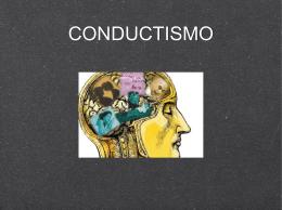 CONDUCTISMO - Portal Académico del CCH